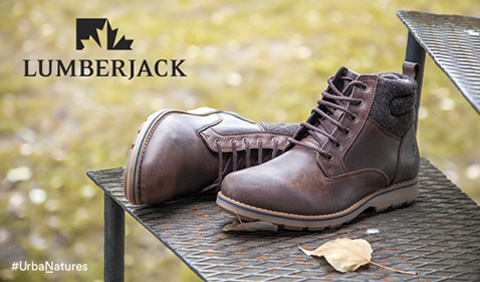 Lumberjack #UrbaNatures jesen zima 2016 Office shoes Montenegro