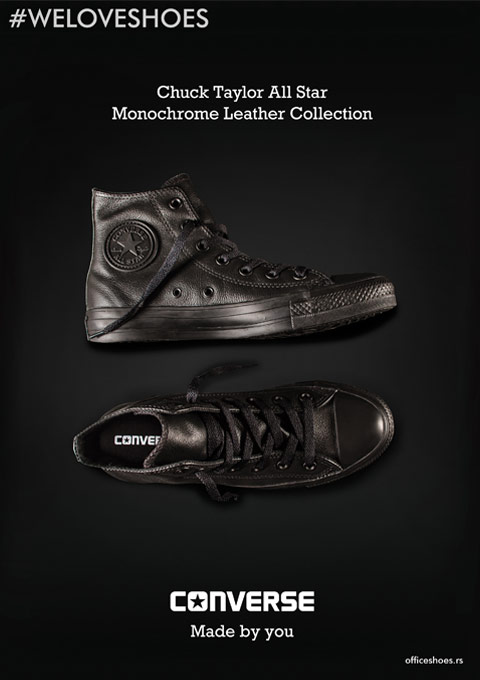 Converse - Jesen Zima 2016 - Office shoes - CRNA GORA