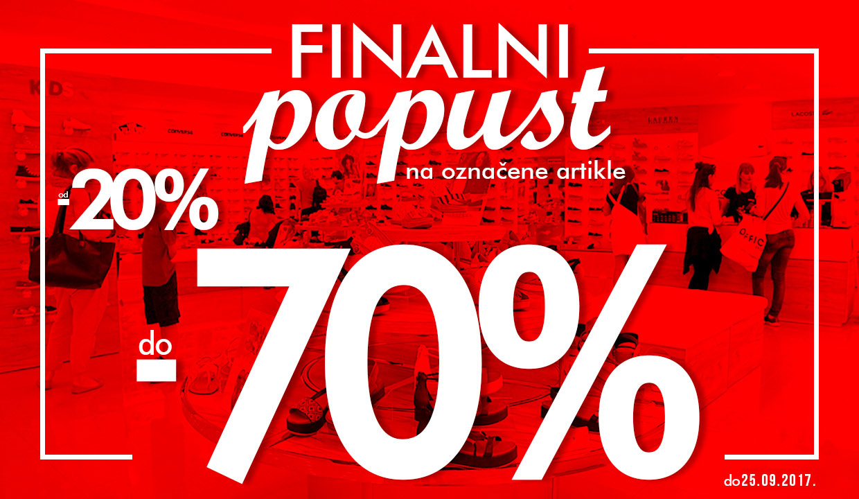 FINALNI POPUST  do - 70%  OFFICE SHOES MONTENEGRO