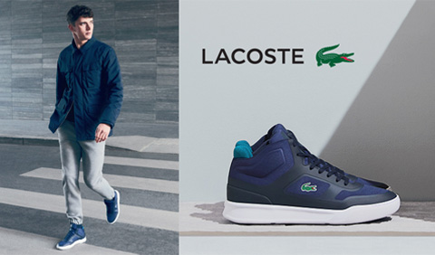 LACOSTE JESEN ZIMA 2016 OFFICE SHOES CRNA GORA