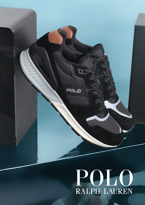 POLO RALPH LAUREN - Kolekcija Jesen Zima 2018 - Office shoes - Crna gora