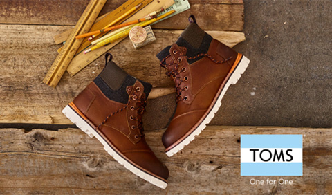 TOMS - ONE FOR ONE - Jesen Zima 2016 Office shoes CRNA GORA