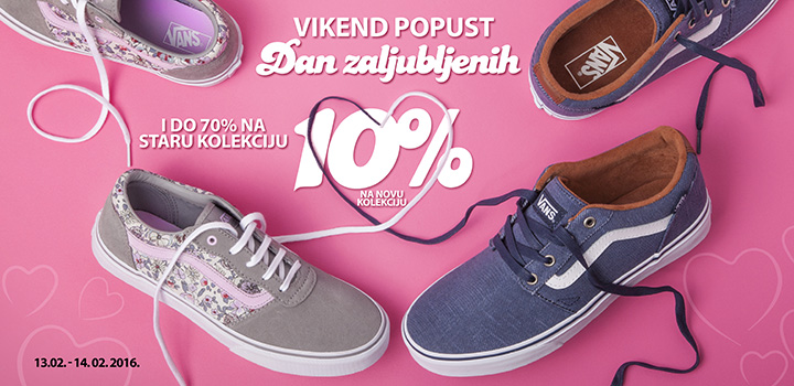 DAN ZALJUBLJENIH  VIKEND POPUST OFFICE SHOES MONTENEGRO